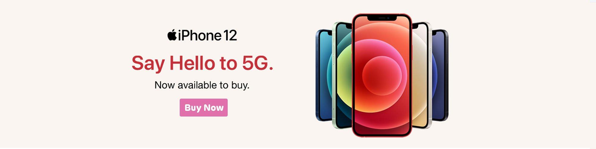 iPhone 12 5`g